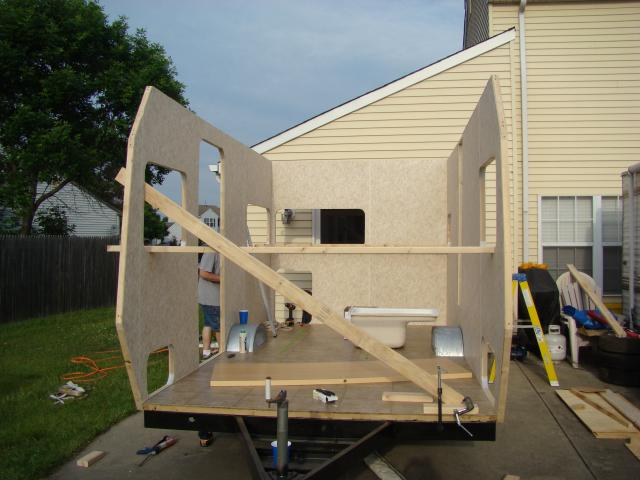 How to home build an rv that doesn 39 t look like ass Make your own trailer house